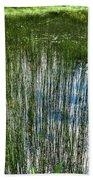 Pond Grasses Hand Towel