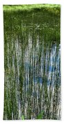 Pond Grasses Bath Towel