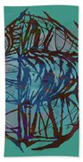 Pop Art - New Tropical Fish Poster Bath Towel