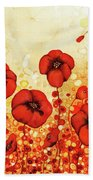 Poppin' Poppies #1 Hand Towel