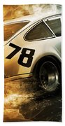 Porsche Carrera Rsr, 1973 - 20 Bath Towel