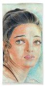 Portrait Bath Towel
