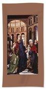 Presentation Of Christ Wga Rogier Van Der Weyden Bath Towel