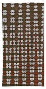 Prickly Poppy Abstract Bath Towel