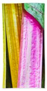 Rainbow Chard Bath Towel