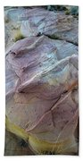 Rainbow Colored Sandstone In Valley Of Fire Bath Towel