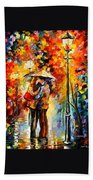 Rainy Kiss Bath Towel