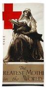 Red Cross Poster, C1918 Hand Towel