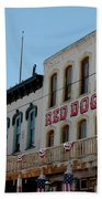 Red Dog Saloon Bath Towel