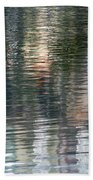 Reflections In Water Bath Towel