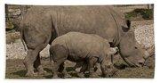 Rhinoceros Bath Towel