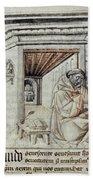 Roger Bacon (1214?-1294) Bath Towel