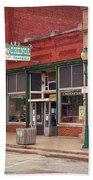 Route 66 - Chenoa Pharmacy Bath Towel