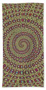 Saguaro Forest Abstract #2 Bath Towel