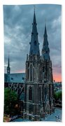 Saint Catherina Church In Eindhoven Bath Towel