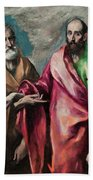 Saint Peter And Saint Paul Bath Towel