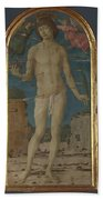 Saint Sebastian Bath Towel