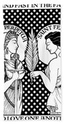 Saints Perpetua And Felicity Hand Towel