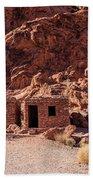 Sandstone Cabins Bath Towel by Ed Clark
