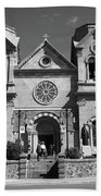 Santa Fe - Basilica Of St. Francis Of Assisi Hand Towel