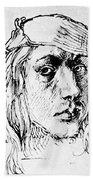 Self Portrait 1493  Bath Towel