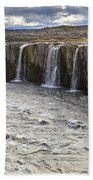 Selfoss Waterfall Bath Towel