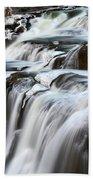 Shoshone Falls Close Up Bath Towel