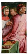Six Tuscan Poets Bath Towel