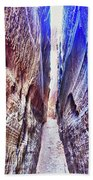Slot Canyon Of Canyon De Chelly, Bath Towel