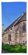 St Mary's Church - Tutbury Bath Towel