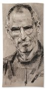 Steve Jobs Bath Towel
