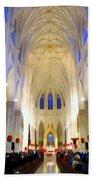 St.patricks Cathedral Restored Bath Towel