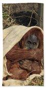 Sumatran Orangutang - Bath Towel