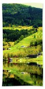 Summer In Norway Bath Towel