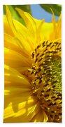 Sunflowers Art Prints Sun Flower Giclee Prints Baslee Troutman Bath Towel