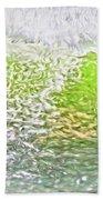 Surfer Green Bath Towel