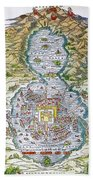 Tenochtitlan (mexico City) Bath Towel