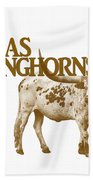 Texas Longhorns Bath Towel