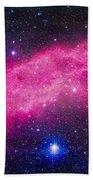 The California Nebula Bath Towel