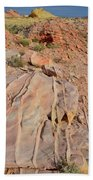 The Color Of Valley Of Fire Bath Towel