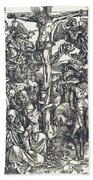 The Crucifixion Bath Towel