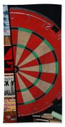 The Dart Board Bath Towel