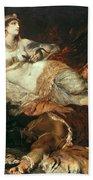 The Death Of Cleopatra Bath Towel