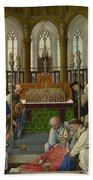 The Exhumation Of Saint Hubert Bath Towel