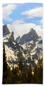 The Grand Tetons Bath Towel