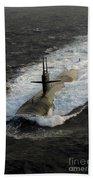 The Los Angeles-class Submarine Uss Bath Towel