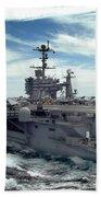 The Nimitz-class Aircraft Carrier Uss Bath Towel