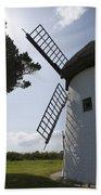 The Old Irish Windmill Bath Towel