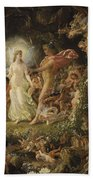 The Quarrel Of Oberon And Titania Bath Towel