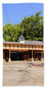 The Railroad Station In Scarsdale Bath Towel